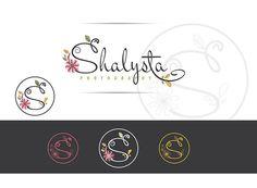 Insignia floral diseño logotipo fotografía por lovedesigning