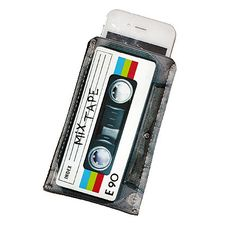 Retro 80's Mix Tape Rainbow Neoprene iPhone Case - Fits iTouch -Neoprene Version