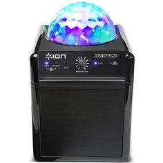 Ion Power Bluetooth Wireless Speaker System with Disco Party LED Lights - iPA19C (Certified Refurbished). This Certified Refurbished product is tested & certified by Ion to work like-new. The product includes all original accessories, and is backed by a 90 day warranty. Streams music wirelessly from any Bluetooth music player, Projects colorful light patterns onto walls and ceilings. Works with iPad, iPhone, iPod touch, Kindle Fire HD/X, Android devices, and more, Ultra-compact durable...
