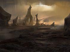 ArtStation - Lands, Timothy Rodriguez