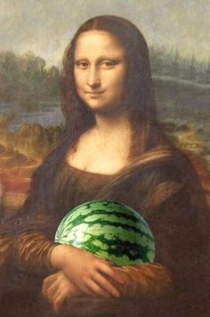 Mona Lisa wants a snack
