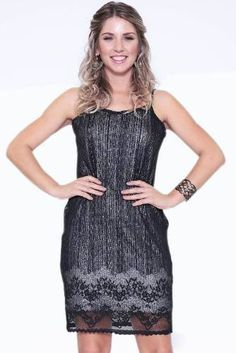 Vestido De Festa A Pronta Entrega - R$ 129,00