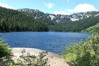 Heather Lake. Near Lake Wenatchee, WA