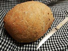 Ropogós héjú szénhidrátcsökkentett kenyér kenyérsütőben
