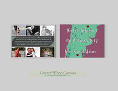 Parent Gifts, Gifts For Mom, Tree Canvas, Custom Canvas, Green Trees, Map Art, Parents, Etsy Shop, Art Prints