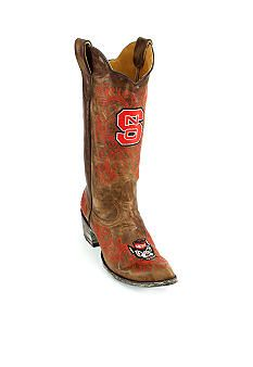 Gameday Boots Women's North Carolina State University Boot@Cheryl White-Smith...would'nt ROGER love these!!!
