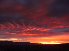 Magical Sunset over the Verde Valley