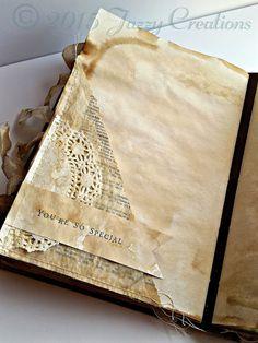 Fabric journals, journal paper, art journal pages, art Junk Journal, Journal Paper, Art Journal Pages, Handmade Journals, Handmade Books, Vintage Journals, Handmade Rugs, Handmade Crafts, Fabric Journals