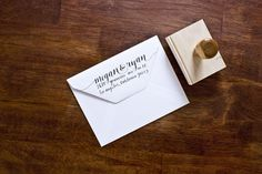 Loving these return address stamps