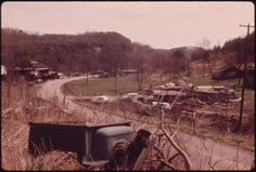 Wilder, Tennessee, in the Cumberland Mountains near Cookeville in the Eastern Part of the State 04/1974 | Jack Corn
