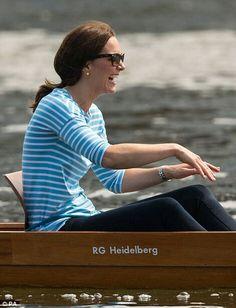 Catherine Duchess of Cambridge in Heidelberg Germany. July 20 2017