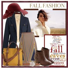 """Fall Fashion..."" by glamorous09 on Polyvore"