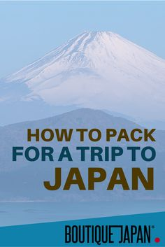 Traveling to Japan? Check out our top 7 tips on packing for a trip to Japan, including must-bring items, how much to pack, luggage forwarding and more!