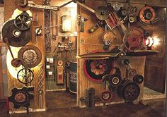 steam punk decor | steampunk%2Bhome%2Bdecorating-steampunk%2Bbedrooms%2B5.jpg