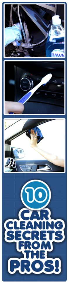Cool ways to clean your car using Dawn and some other items you already have in your home! #dawnbeyondthesink #ad