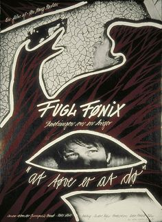 """Fugl Fønix   (Jon Bang Carlsen, DK, 1984) Poster art: unknown. Poster still: unknown. """"Staged documentary,"""" is the director's word for the type of movie he does here with a depiction of an American who teaches people to use firearms so that later they can defend themselves. http://www.dfi.dk/faktaomfilm/film/da/3714.aspx?id=3714"""