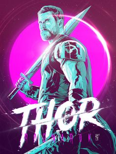 Thor: Ragnarok – by Harry Movie Art