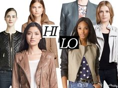 Hi/Lo: The Leather Look   That's why we're here — to find the #affordable, faux-leather versions of the high fashion styles you love.
