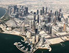 Doha, Qatar - went on a business trip for a week, very nice place, great people, good food and culture
