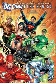 Collects Justice League Written by Geoff Johns. Art and cover by Jim Lee and Scott Williams. Comics superstars Geoff Johns and Jim Lee make history with the first hardcover collection of a DC COMICS - THE NEW 52 series! Marvel Dc Comics, Heros Comics, Dc Comics Art, Dc Heroes, Marvel Avengers, Comic Book Characters, Comic Character, Comic Books Art, Comic Art