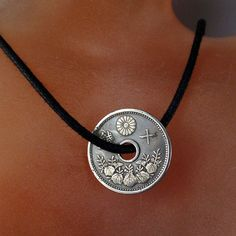 antique JAPANESE COIN NECKLACE Jewelry
