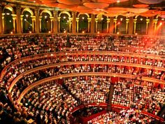 Royal Albert Hall inside - heard first classical music concert there - Henry Wood Promenade Concert - went every years for many years Classical Music Concerts, Grand Ole Opry, Royal Albert Hall, Night City, What A Wonderful World, Concert Hall, Wonders Of The World, Places Ive Been, Opera House