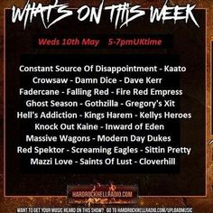 """Check out """"The Independence Rox Show at Hard Rock Hell Radio 10thMay CSOD Gothvilla Fadercane Red Spektor Kaato"""" by The ROXX Show Hard Rock Hell on Mixcloud"""
