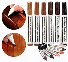 Suite LIGHT GREY Leather TOUCH UP Craft Repair Pen for Sofa Armchair etc