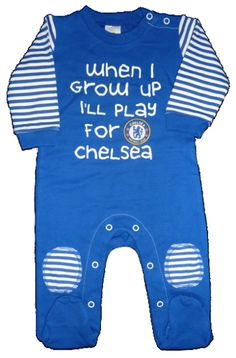 Okay... That's adorable. Part of the 4 piece gift set, this #Chelsea sleepsuit is so cool!