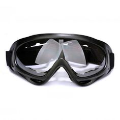 Generous New Motorcycle Glasses Ski Snowboard Goggles Dustproof With Adjustable Elastic Head Band Road Racing Eyewear Quality First Skiing & Snowboarding