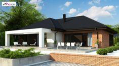 Z282 to wyjątkowy dom z kategorii projekty domów jednorodzinnych Home And Away, House Plans, Pergola, Outdoor Structures, House Design, How To Plan, Architecture, Outdoor Decor, Inspiration
