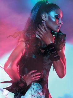 Ciara Seltzer for L'Officiel Paris Jan 2010