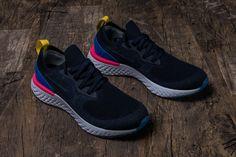 fadafe82a765c Nike Epic React Flyknit AQ0067-004 Carbon Blue Mens Womens Footwear11