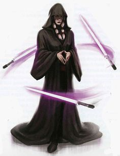 "Kreia is very very rare older female character who is actually playable (she is also blind). She was once a Jedi Master but turns out to be evil and the main villain called ""Darth Traya"" in the 2005 Xbox/PC game ""Knights of the Old Republic 2: The Sith Lords""."