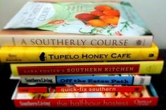 Southern cookin' don't need no cookbooks.