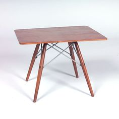 Charles Eames; Occasional Table for Herman Miller, c1950.