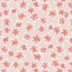 Pink filled blossoms by andso, click to purchase fabric Blossoms, Fabric Design, Curtains, Shower, Prints, Rain Shower Heads, Flowers, Blinds, Showers