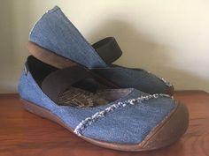 KEEN GOOD JEAN PROJECT MJ Women 8 Blue Denim Slip On Mary Jane Flats Shoes    eBay