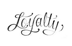 Loyalty is hard to find, once you find it, keep it. #Love #BareElegance