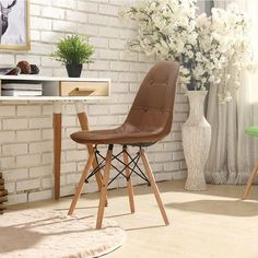 1pcs Modern minimalist dining chair home restaurant chair computer chair solid wood Nordic living room chair Make Up Chair    - AliExpress Nordic Living Room, Home And Living, Living Spaces, Dining Room Furniture, Living Room Chairs, Dining Chairs, Office Furniture, Old Chairs, Restaurant Chairs
