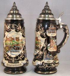 2010 Heidelberg German Beer Stein - Authentic Beer Steins from Germany -