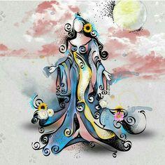 yemanja tattoo google search blessed yemaya water goddesses pinterest google tattoos. Black Bedroom Furniture Sets. Home Design Ideas