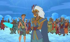 "2. Kida from ""Atlantis: The Lost Empire"""