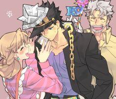 Holly, Jotaro & Joseph