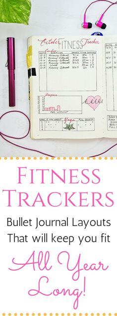 Fitness trackers, bullet journal layouts.