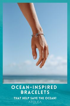 Life is better with our Ocean Bracelets. Bring your love for the ocean wherever you go with our jewelries. Check out more ocean-inspired bracelets at atoleajewelry.com