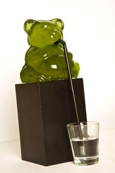 Gigantic gummy bear recipe