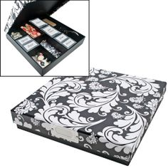 Cropper Hopper - Paperboard Embellishment Box at Scrapbook.com $12.99