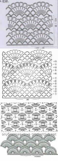 This Pin was discovered by Вер Crochet Diagram, Crochet Chart, Filet Crochet, Crochet Motif, Crochet Lace, Crochet Hooks, Crochet Flower Patterns, Crochet Stitches Patterns, Knitting Patterns