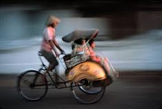Ride on Becak